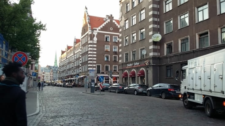 Une vieille ville aux résonances germaniques aussi...