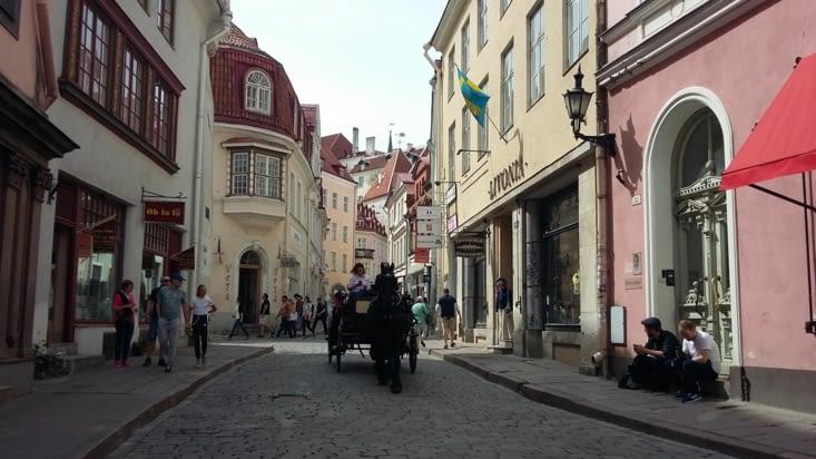 les touristes semblent faire vivre cette vieille ville, heureuse de partager son histoire