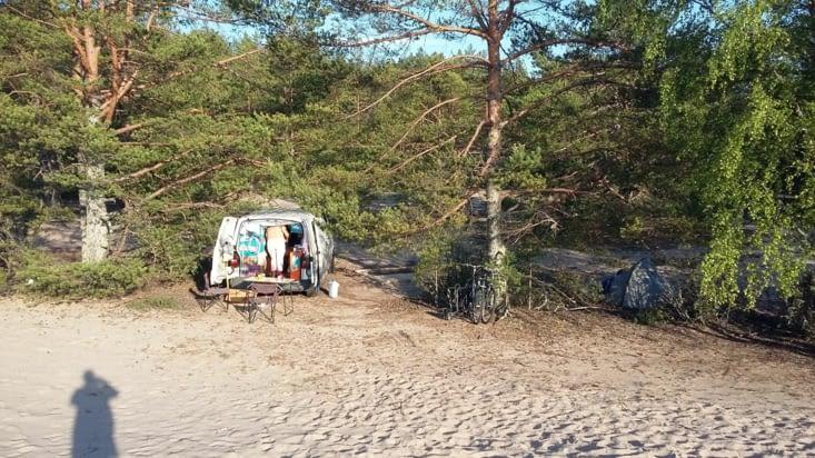En route pour de nouvelles aventures vers Pori. C'est surtout cette avancée vers la mer