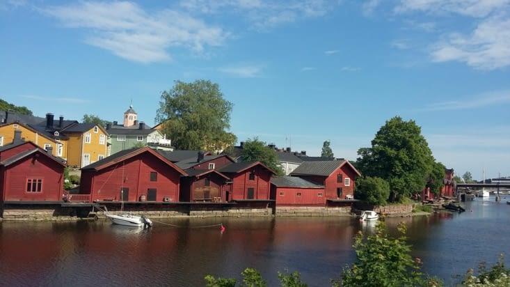 Maisons de pêcheurs traditionnelles