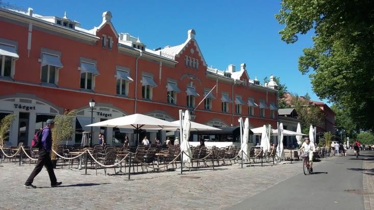 Puis en fin de journée, retour de Turku pour une invitation à manger à 17h chez Omid et