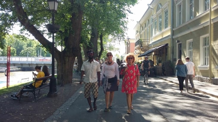 Puis visite de la paisible et conviviale ville de Turku