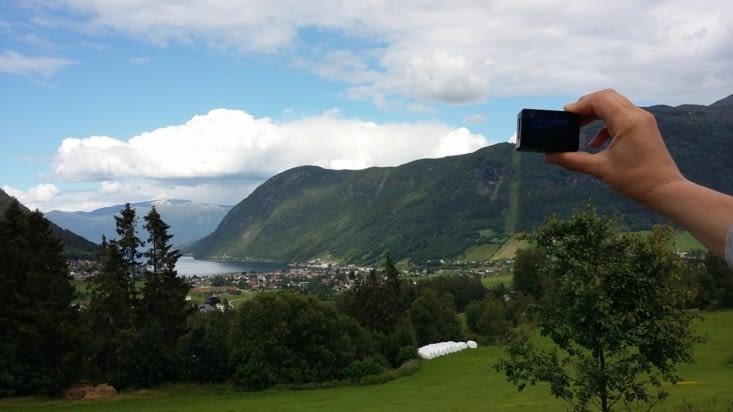 Après Flâm, passage par Sognefjord, Charlotte a la mission d'utiliser sa gopro !!!