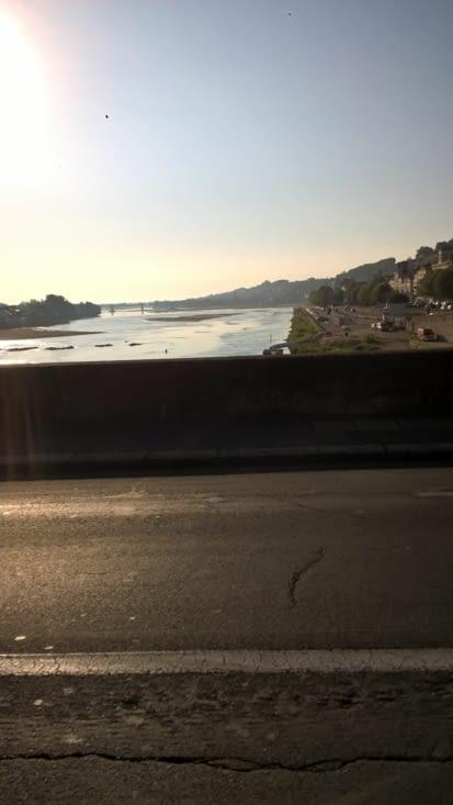 Saumur et la Loire, magnifique au petit matin