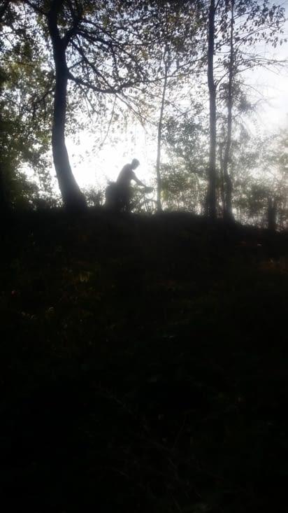 à la châtre, je trouve l'homme des bois