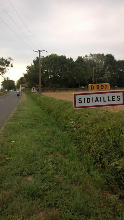arrivés sur Sidiailles