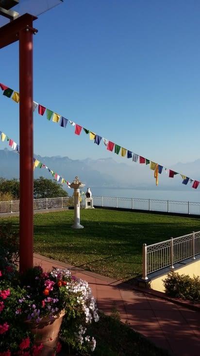 au temple tibétain assez réputé où nous avons la révélation ...