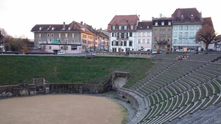 Un amphithéâtre pouvant accueillir jusqu'à 5000 spectateurs