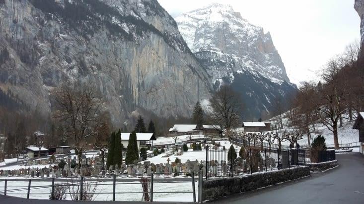 changement de cap: VISITE de la région bernoise le long de l'AAR à Lauterbrunnen