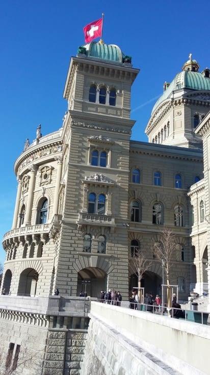 Le palais de Bern