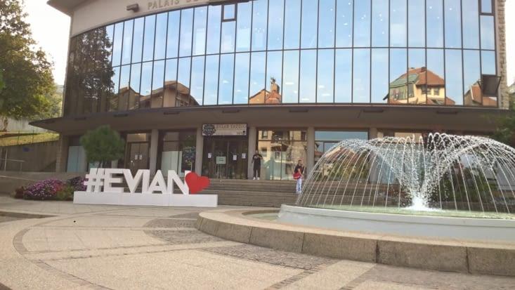 passage par Evian pour faire le plein, et surtout laver le linge!!