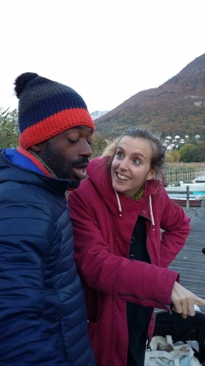 """""""Tu vois Jaja, le lac d'Annecy c'est le plus beau du monde!"""""""