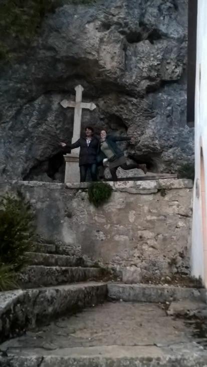 A la grotte de l'ours de Saint Ursanne