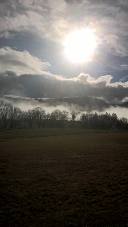 Un brouillard qui en devient majestueux