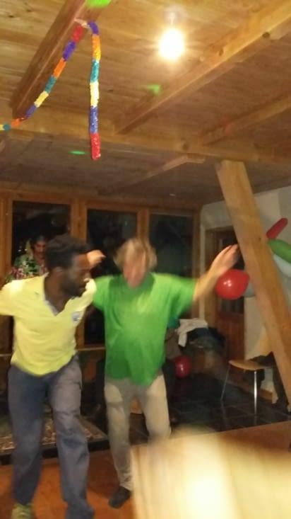 que c'est bon de danser avec Jacques !!!