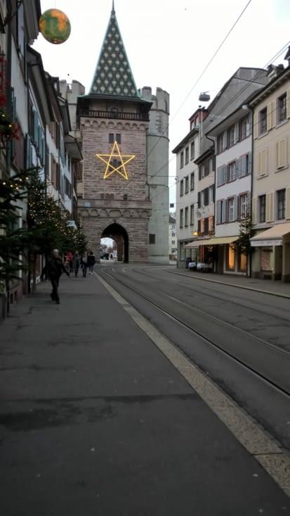 Tour de la ville express because horodateur suisse très dissuasif pour les tricheurs ....