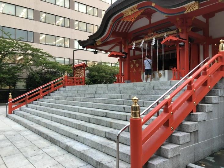 Le sanctuaire shinto Hanazono