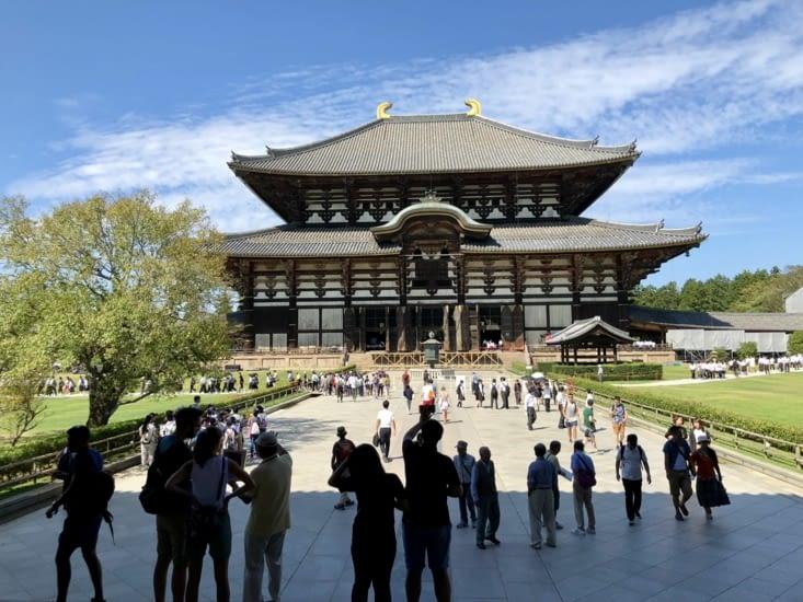 Temple Todaiji, plus grande construction en bois du monde