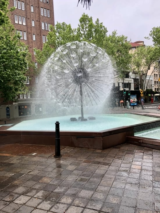 Fontaine en boule