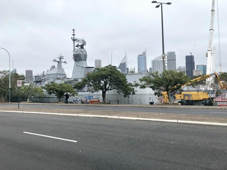 Navire de la HMAS