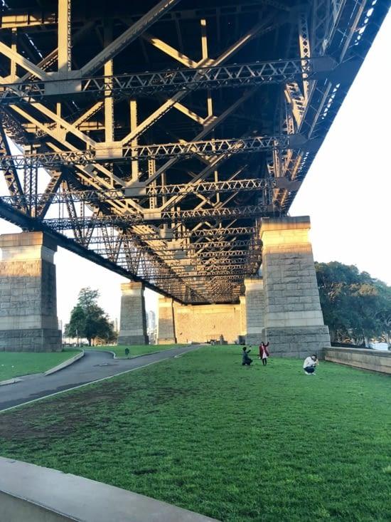 Le dessous du harbour bridge