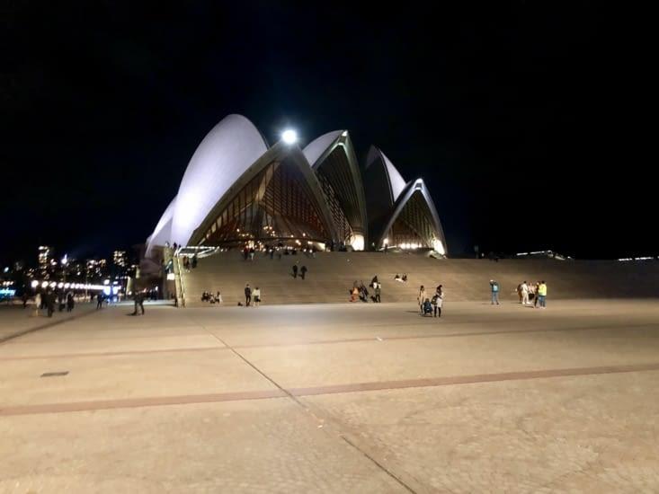 Opéra House de nuit