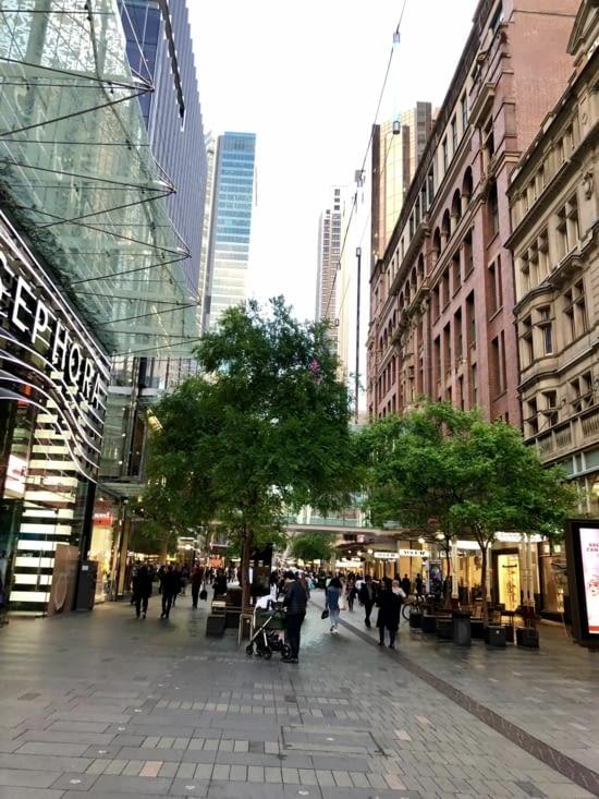 Les avenues commerçantes de Georges Street