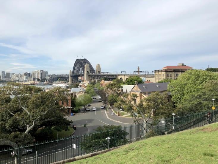 Vue depuis l'observatoire de Sydney