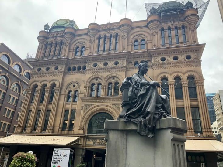 l'immeuble Reine Victoria