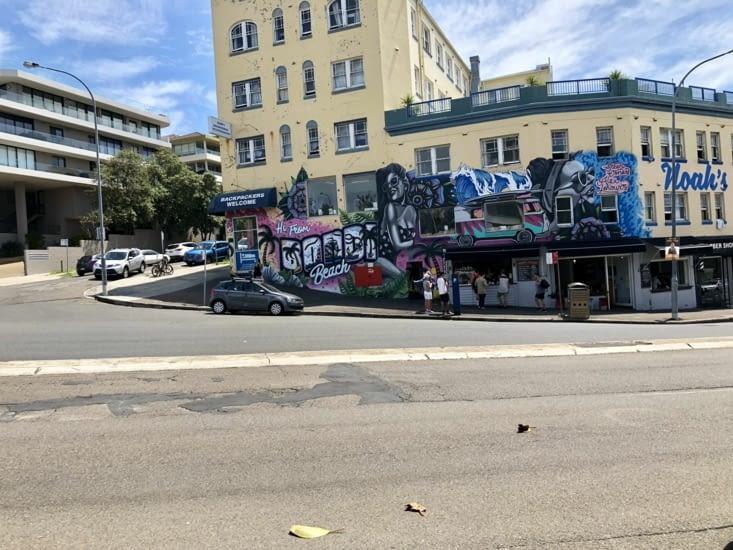 Street art à Bondi Beach