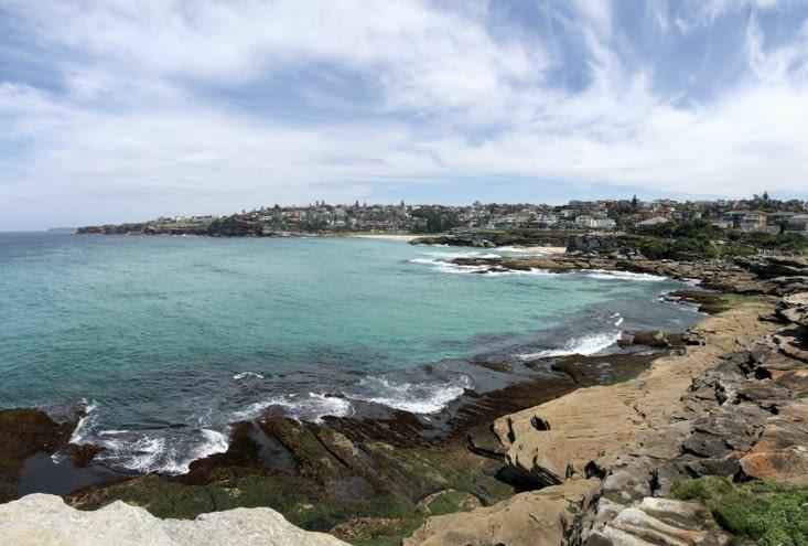 Tamarama Beach vue de loin