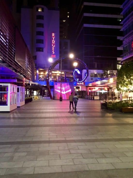 De sorties dans les rues de Sydney