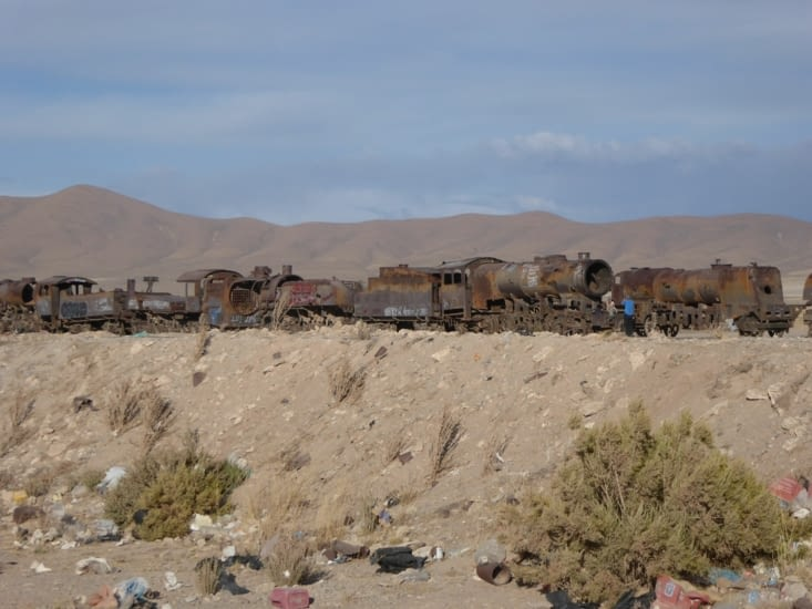 Cimetière trains Uyuni