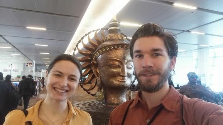 Petit stop à Delhi avant de s'envoler pour Bangkok !