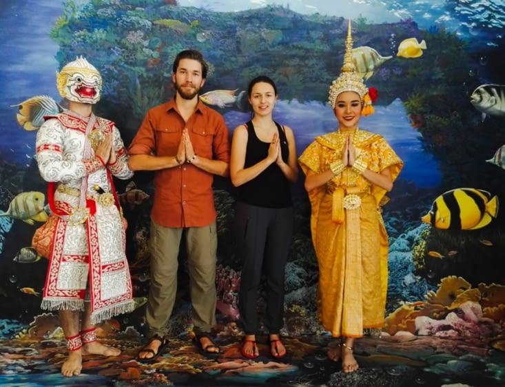 Khon, masked dance of Thailand