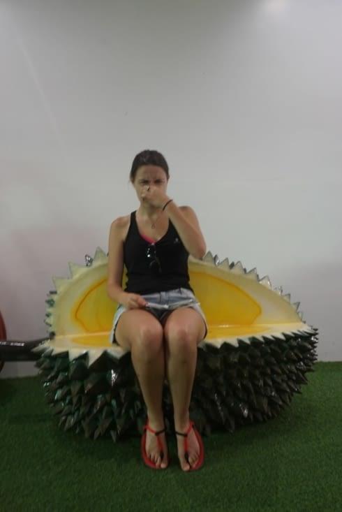 Le durian ça pue!