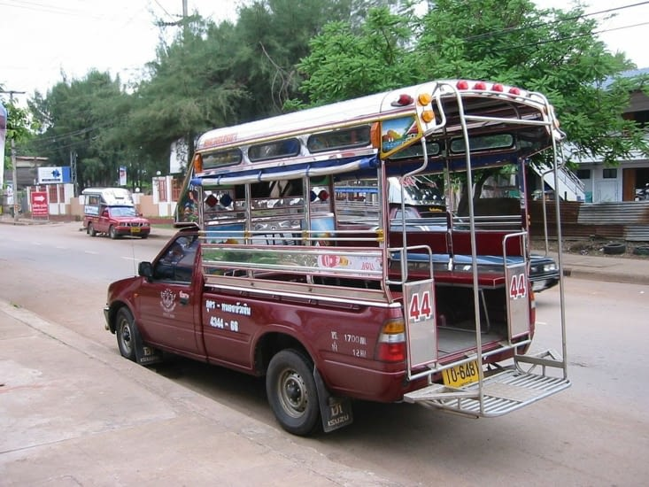 Pickup bus