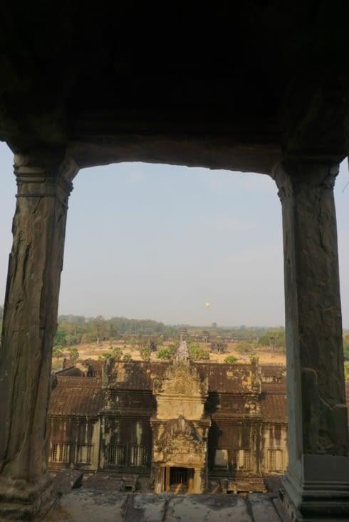En haut de la tour