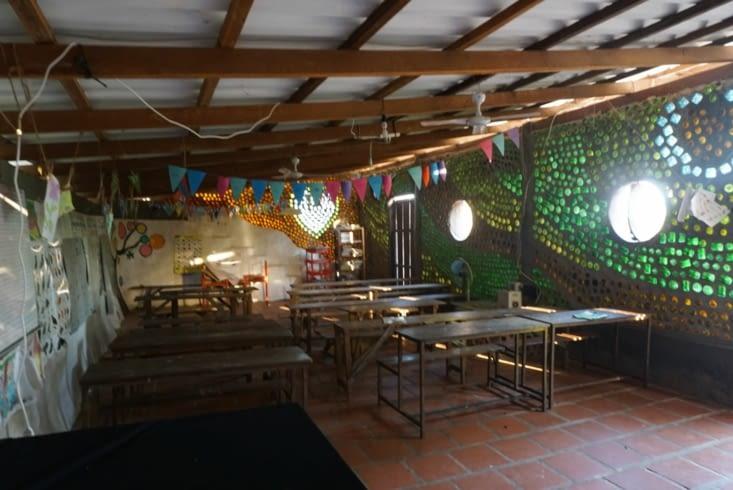 L'intérieur de l'école