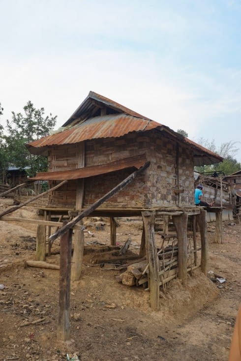 Bâtiment de stockage pour le riz