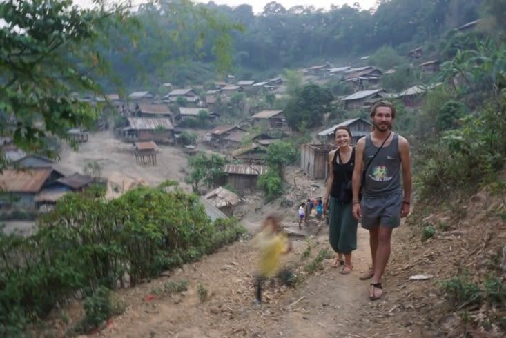 Tour du village