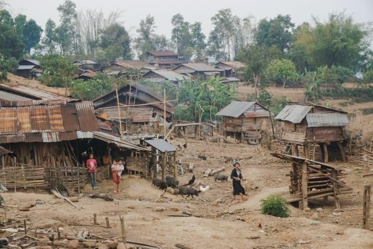 Vie et vue du village