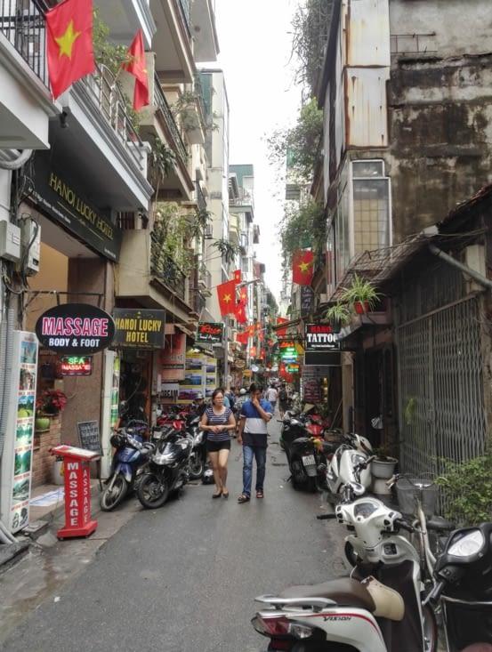 Rue de la vieille ville