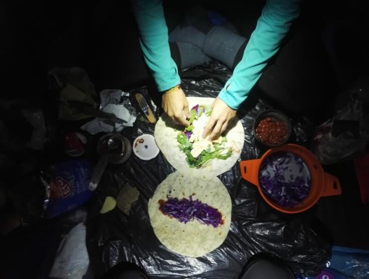Burrito en cours !