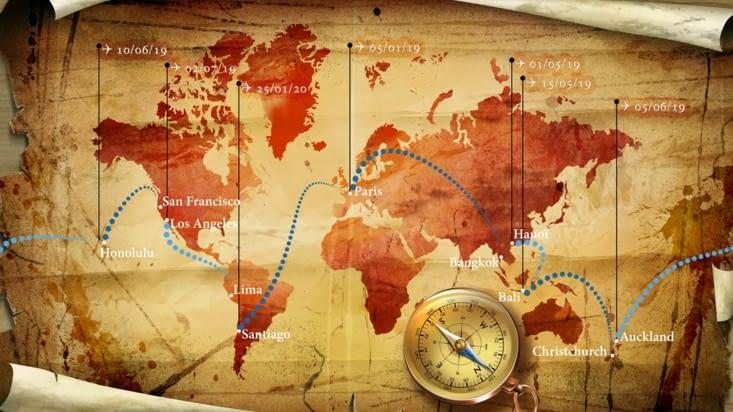 L'itinéraire