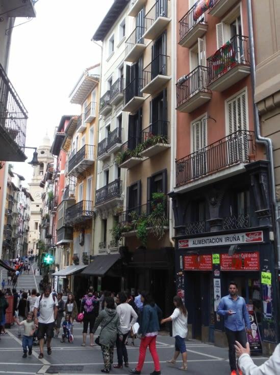 Blog de voyage en espagne j9 22 7 16 saint jean pied de port pampelune - Mairie st jean pied de port ...