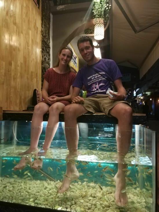Fish massage Siem Reap