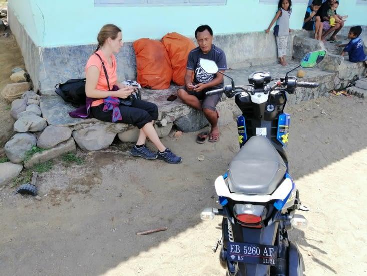 Négociation pour le scooter