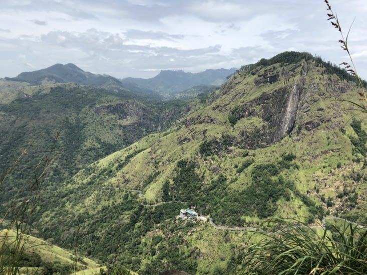 Vue depuis le Little Adams Peak