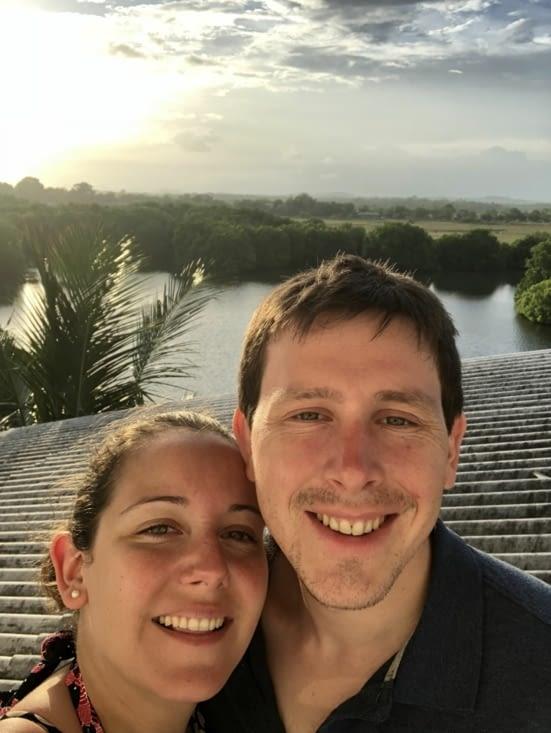 Vue de la Mangrove depuis l'hôtel